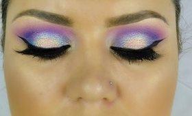 Purple Eyeshadow Look