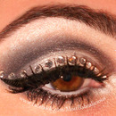 Jeweled NYE Eyes