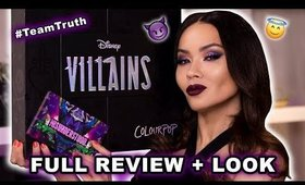 COLOURPOP X DISNEY VILLAINS REVIEW + LOOK | Maryam Maquillage