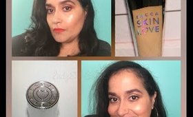 BECCA SKIN LOVE WEIGHTLESS BLUR FOUNDATION  Review | LADYEMC2TV