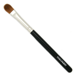 Hakuhodo B132BkSL Eye Shadow Brush round and flat