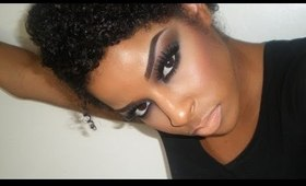 Cassie Ventura Inspired look: Dramatic Smokey Eye