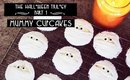 The Halloween Trilogy Part 1: Mummy Cupcakes || Lilac Ghosts