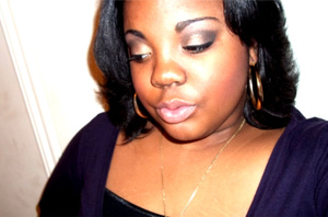 Black & Gold look