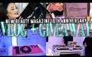 NYC New Beauty Party Vlog + HAUL & GIVEAWAY