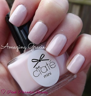 A nude baby pink creme finish from the Ciate 2014 Minimanimonth Advent Calender