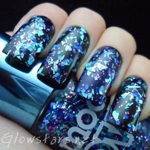 A swatch from the new Models Own Mirrorball collection. To see more photos including the other polishes in the collection please visit http://glowstars.net/lacquer-obsession/2012/09/models-own-mirrorball-collection.