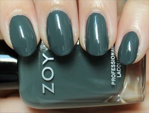 See more swatches & my review here: http://www.swatchandlearn.com/zoya-evvie-swatches-review/