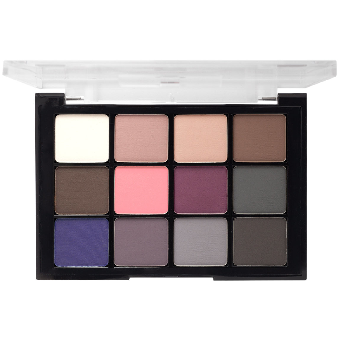 Viseart Eye Shadow Palette 7 Cool Mattes product smear.