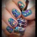 Koi Pond Jelly Nails Right Hand