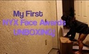 MY FIRST NYX UNBOXING! (NYX FACE AWARDS 2013)