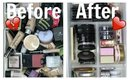 Decluttering & Organizing My Makeup Collection 👽 Part 2: Face