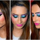 Colourful Party Look