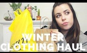 Winter Clothing Haul 2017