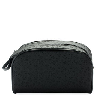 Shane Dawson Double Zip Makeup Bag Black