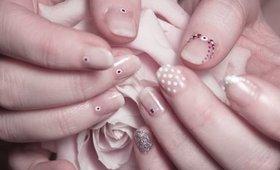 Six Simple Bridal Nail Designs