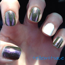 Orly Space Cadet & China Glaze Ooh La La White