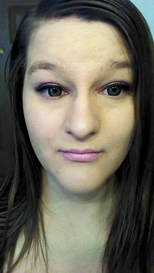 I was happy to finally use my first KVD eye shadow palette today! Yay! I used the shades: Babe, Chandler, and Shiba. After work, I went to Thor 2. I was awesome, and waaaay better than the first. Anyway, I loved how my makeup looked today! (Since I stopped being derpy, and realized that my foundation and primer did not mix well. Water and oil don't mix. Derp-da-derp.)
