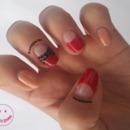 Rhinestone Bow Nail Art (Simple)