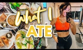 WHAT I ATE TODAY + TRADER JOES HAUL 2020