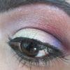 on my eyes