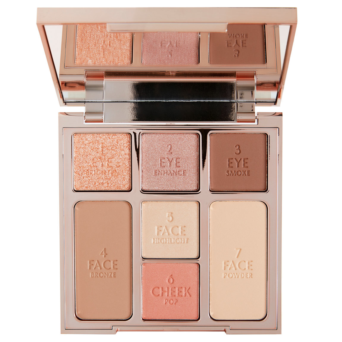 Charlotte Tilbury Instant Look of Love In A Palette Pretty Blushed Beauty alternative view 1 - product swatch.