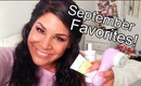 ♡ September 2012 Favorites! ♡