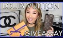 LOUIS VUITTON GIVEAWAY | I am thankful for YOU | HAPPY THANKSGIVING | hollyannaeree