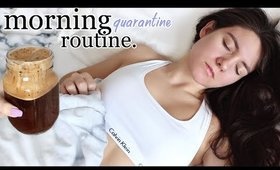 Quarantine Morning Routine | Work From Home MORNING ROUTINE !