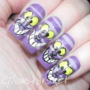 For more nail art and other manis in this challenge visit http://Glowstars.net