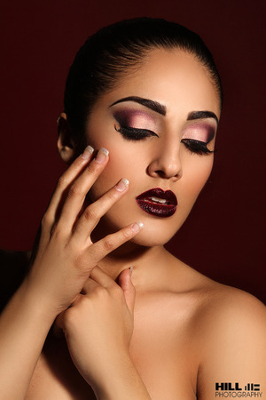 Makeup: Bre Kali Photog: William Hill Hair: Shawanda Clarence Model: Simran Chadha