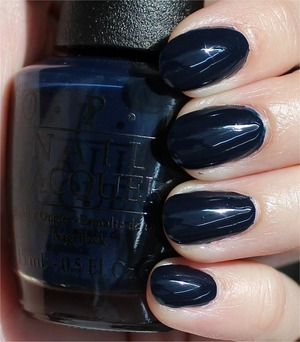 From the San Francisco Collection coming out in August. Click here to see my in-depth review and more swatches: http://www.swatchandlearn.com/opi-incognito-in-sausalito-swatches-review/