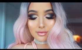 Cotton Candy Smokey Eye using Kathleen Lights X Morphe Palette