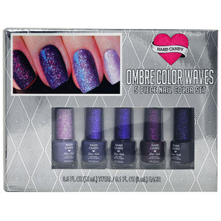 Hard Candy Ombre Color Waves 5 Piece Nail Color Set