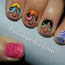 My cute girly nails!