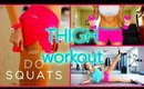 THIGH WORKOUTS | (thigh gap, inner thigh, outer thigh)