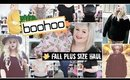 BooHoo Plus Size Fall Haul | Affordable Clothing 2018