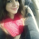 i love my big red scarf(: