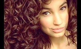 Trimming my curls + rambling 💜