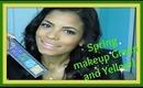 Spring makeup | Green & Yellow