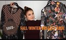 500$+ FALL/WINTER DRESSES HAUL + GIVEAWAY