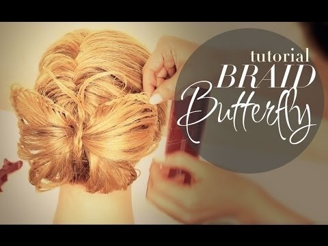 Fantastic Butterfly Braid Bun Tutorial Pt2 French Fishtail Braided Cute Hairstyle Inspiration Daily Dogsangcom