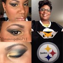 Steelers inspired look