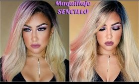 Maquillaje SENCILLO para 40's y parpados caidos / Hooded eyes 40s makeup tutorial easy| auroramakeup