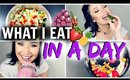What I Eat In A Day! | Weight Loss Journey