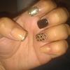 cheetah and gold