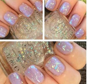 Base colour barry m prickly pear with a layer of avon opal