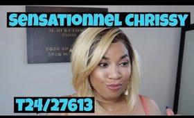 Summer blonde feat: Sensationnel Chrissy