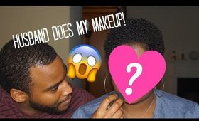 Husband Does My Makeup?! | Shakirah Glam Artist