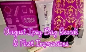 Ipsy August 2013 Bag reveal & first impressions